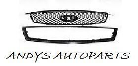 FORD FOCUS 05 -07 FRONT  GRILLE WITH BLACK SURROUND