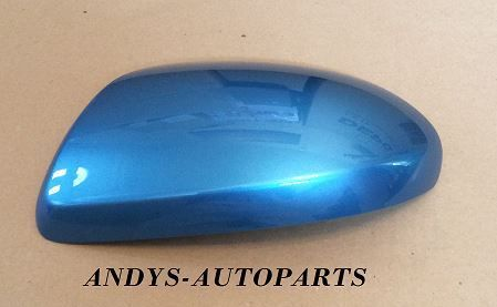 Mazda 3 Replacement Wing Mirror Cover 2009 2012 Lh Or Rh In Celestial Blue 38j