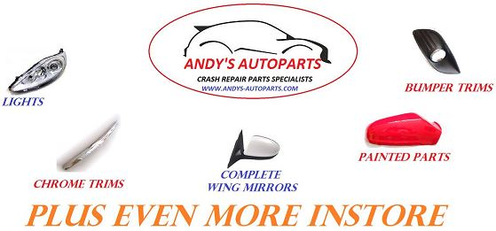 Andys Autoparts Based In The Uk We Sell Crash Repair