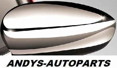 ABARTH 500,595,695 2015 ONWARDS WING MIRROR COVER L/H OR R/H IN CHROME