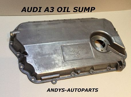 AUDI A4 1995 -  2008 ENGINE OIL SUMP PAN FOR 3.0 PETROL MODELS