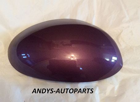 CITROEN C1 2005 - 2013 WING MIRROR COVER L/H OR R/H IN PLUM Colour Code: KPH