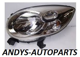 CITROEN C1 2005 - 2014 HEADLIGHT LENS