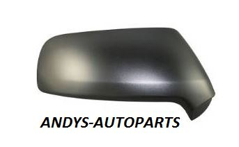 CITROEN C4 PICASSO 2007 - 2013 WING MIRROR COVER BLACK TEXTURED