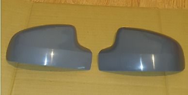 DACIA LOGAN 08-2013 PAIR OF WING MIRROR COVERS PAINTED TO COLOUR OF CHOICE