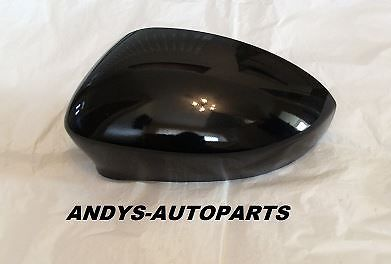 FIAT GRANDE PUNTO 06 - 2010 WING MIRROR COVER L/H OR R/H IN CARBONI BLACK
