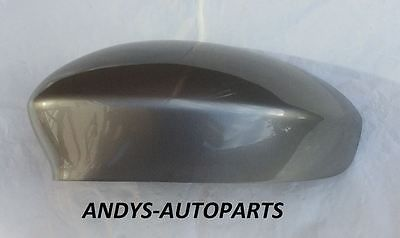 FIAT GRANDE PUNTO 06 - 2010 WING MIRROR COVER L/H OR R/H IN REVIVAL GREY