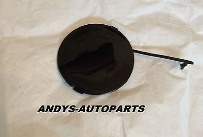 FIAT GRANDE PUNTO 2006 ONWARDS FRONT TOWING EYE COVER IN CARBONI BLACK
