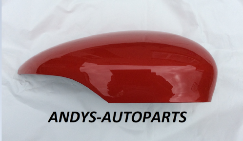 FORD B-MAX 2012+ WING MIRROR COVER LH OR RH SIDE IN COLORADO RED