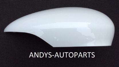 FORD B-MAX 2012+ WING MIRROR COVER LH OR RH SIDE IN FROZEN WHITE