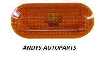 FORD C-MAX 2004 - 2007   Indicator Lamp Amber Lens (Situated In Front Wing)