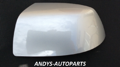 FORD FIESTA 05-08 WING MIRROR COVER LH OR RH SIDE IN MOONDUST SILVER