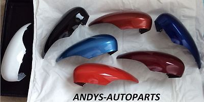 FORD FIESTA 08 - 14 GENUINE WING MIRROR COVER LH OR RH PAINTED TO COLOUR OF YOUR CHOICE