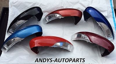 FORD FIESTA 08+ GENUINE WING MIRROR COVER WITH LENSE LH OR RH PAINTED ANY FORD COLOUR