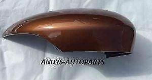FORD FIESTA 08 ONWARDS  GENUINE WING MIRROR COVER LH OR RH SIDE IN FORD COPPER PULSE