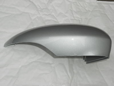 FORD FIESTA  2008 - 2017 GENUINE  WING MIRROR COVER LH OR RH SIDE IN FORD MOONDUST SILVER