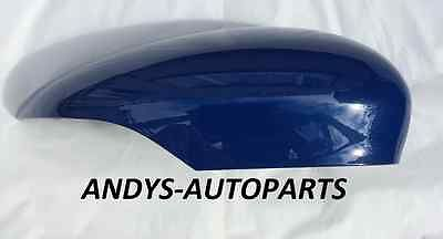 FORD FIESTA  2008 - 2017 GENUINE WING MIRROR COVER LH OR RH SIDE IN FORD SIGMA NAUTICAL BLUE