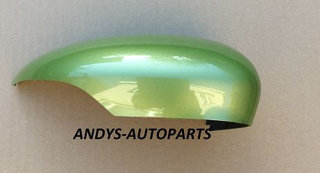 FORD FIESTA  2008 - 2017  GENUINE WING MIRROR COVER LH OR RH SIDE IN FORD SQUEEZE GREEN