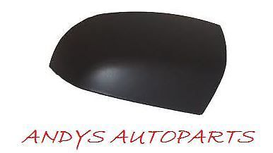 FORD FOCUS 04-07 WING MIRROR COVER LH OR RH BLACK TEXTURED