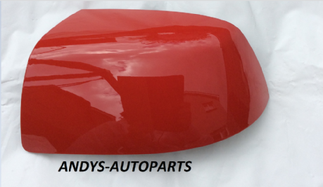 FORD FOCUS 04-07 WING MIRROR COVER LH OR RH SIDE IN COLARADO RED