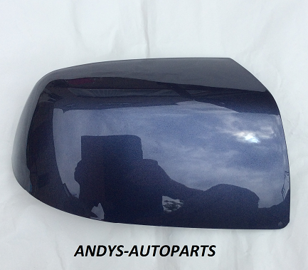 FORD FOCUS 04-07 WING MIRROR COVER LH OR RH SIDE IN JEANS BLUE