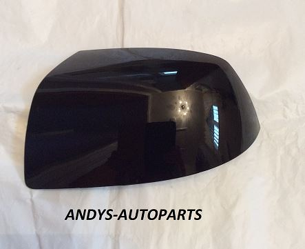 FORD FOCUS 04-07 WING MIRROR COVER LH OR RH SIDE IN PANTHER BLACK