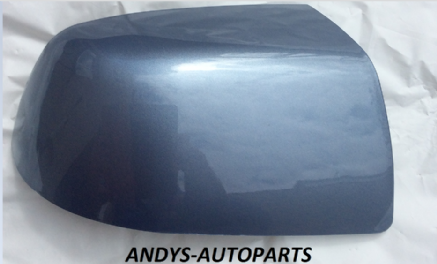 FORD FOCUS 04-07 WING MIRROR COVER LH OR RH SIDE IN TONIC BLUE