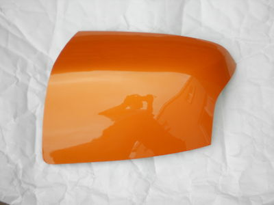 FORD FOCUS 05-08 WING MIRROR COVER LH OR RH SIDE IN ELECTRIC ORANGE