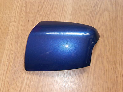 FORD FOCUS 05-08 WING MIRROR COVER LH OR RH SIDE IN OCEAN BLUE