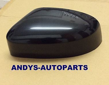 FORD FOCUS 08-2011 WING MIRROR COVER LH OR RH SIDE FACTORY BLACK (NON PAINTED)
