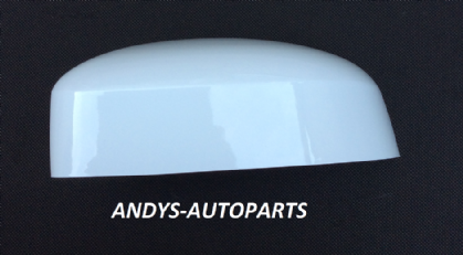 FORD FOCUS 08-2011 WING MIRROR COVER LH OR RH SIDE IN FROZEN WHITE