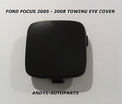 FORD FOCUS 2005 - 2008 FRONT BUMPER TOWING EYE MOLDING PRIMED