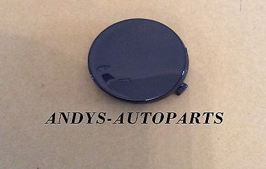 FORD FOCUS 2008 - 11 FRONT BUMPER TOWING EYE MOULDING IN INK BLUE