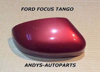 FORD FOCUS 2008-2011 WING MIRROR COVER LH OR RH SIDE IN TANGO