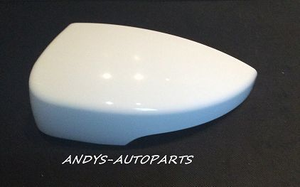 FORD KUGA 2013-2015 WING MIRROR COVER LH OR RH FROZEN WHITE