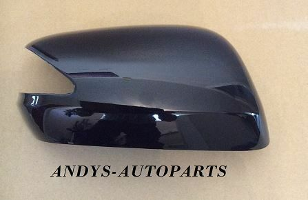 HONDA JAZZ 2008 ONWARDS REPLACEMENT WING MIRROR COVER L/H OR R/H IN GLOSS BLACK