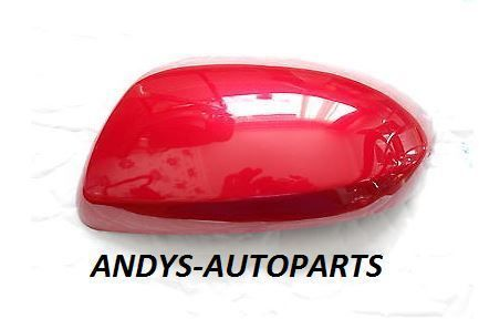 MAZDA 2 WING MIRROR COVER 07-2015 LH OR RH IN IN VELOCITY RED