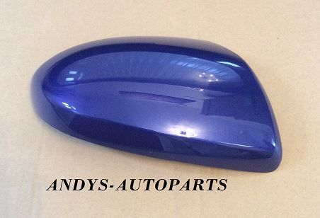 MAZDA 3 REPLACEMENT WING MIRROR COVER 2009 - 2012 LH OR RH IN INDIGO LIGHTS 38K