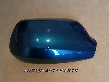 MAZDA 3 WING MIRROR COVER 2004 - 2009 LH OR RH IN PHANTOM BLUE