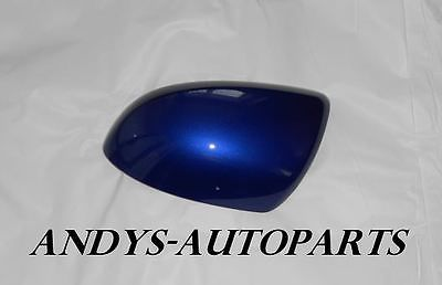 MAZDA 6 WING MIRROR COVER 06 ONWARDS LH OR RH IN IN  AURORA BLUE MICA ( COLOUR CODE 34J )