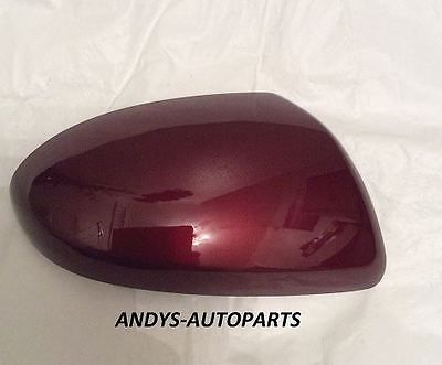 MAZDA 6 WING MIRROR COVER 06 ONWARDS LH OR RH IN IN COPPER RED 32V