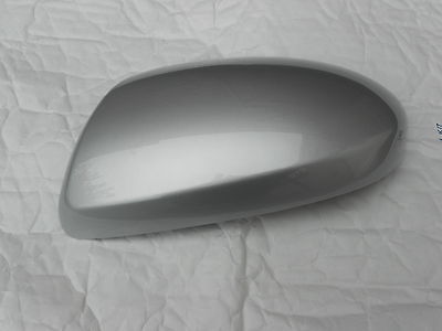 MAZDA 6 WING MIRROR COVER 06 ONWARDS LH OR RH IN IN SUNLIGHT SILVER CODE 22V