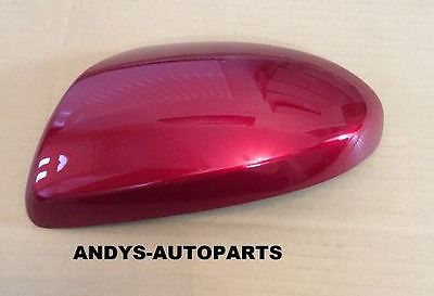 MAZDA 6 WING MIRROR COVER 2006 ONWARDS LH OR RH  IN SOUL RED