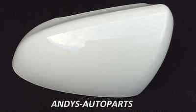 NISSAN QASHQAI ( DUALIS ) 2007 - 2013 WING MIRROR COVER NEW L/H OR R/H  IN ARCTIC WHITE