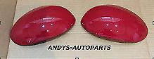 PEUGEOT 107 05 ONWARDS PAIR OF WING MIRROR COVERS L/H OR R/H IN RED SCARLET