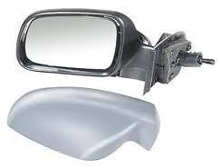 PEUGEOT 307 01 - 07 COMPLETE WING MIRROR MANUAL LH OR R/H PAINTED TO COLOUR