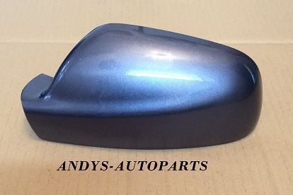 PEUGEOT 307 01 - 07  WING MIRROR COVER LH OR R/H IN IRON GREY