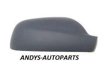 PEUGEOT 307 01 - 07  WING MIRROR COVER LH OR R/H PAINTED TO COLOUR