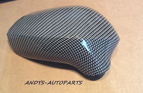 SEAT IBIZA 08 ONWARDS REPLACEMENT L/H AND R/H PAIR IN CARBON FIBRE EFFECT