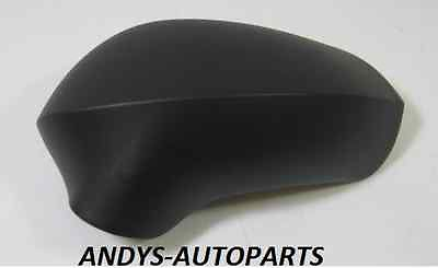SEAT LEON 2009-2012 GENUINE ONWARDS WING MIRROR COVER R/H OR L/H BLACK GRAINED